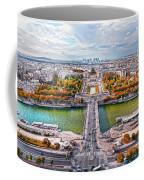 Paris City View 19 Art Coffee Mug