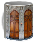 Paris Doors Coffee Mug