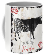 Paris Farm Sign Cow Coffee Mug