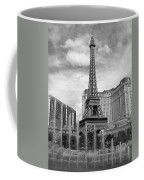 Paris Hotel - Las Vegas B-w Coffee Mug