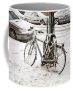 Paris In Snow Coffee Mug