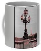 Paris Luminaires And Eiffel Tower Coffee Mug