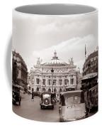 Paris Opera 1935 Sepia Coffee Mug