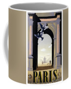 Paris Poster Coffee Mug