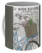 Paris Ride 1 Coffee Mug by Debbie DeWitt