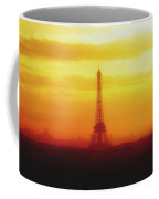 Paris Through The Haze Coffee Mug