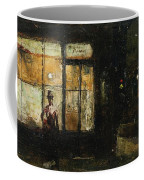 Parisian Boulevard At Night Coffee Mug