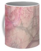 Parisian Romantic Collage Coffee Mug