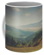 Park Bench Series - Misty Mountains Coffee Mug