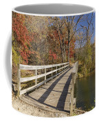 Park Bridge Autumn 2 Coffee Mug
