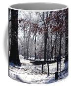 Park In The Snow Coffee Mug