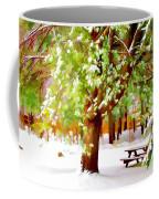 Park In Winter Coffee Mug