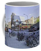 Parked Bikes In Dumbo Coffee Mug