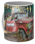 Parked On A Country Road Watercolors Painting Coffee Mug