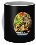 Parked School Buses Coffee Mug