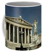 Parliament In Vienna Austria Coffee Mug