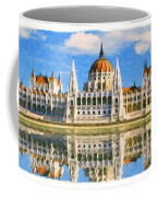 Parliament Of Budapest Coffee Mug