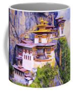 Paro Taktsang Monastery Bhutan Coffee Mug