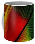 Parrot Feather Macro Coffee Mug