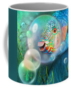 Parrot Fish - Through A Bubble Coffee Mug