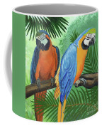 Parrots In Light And Shade Coffee Mug