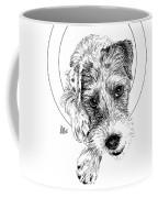 Parson Russell Terrier @elmo.parson Coffee Mug