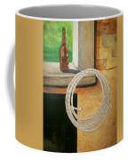 Part Of Fireplace Mural Coffee Mug