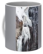Partially Frozen Coffee Mug