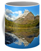 Partly Cloudy Fishercap Reflections Coffee Mug