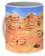 Partly Cloudy Over Coyote South Coffee Mug