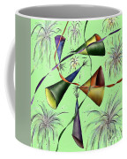 Party Hat Abstract  Coffee Mug
