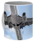 Passenger Jet Coming In For Landing 7 Coffee Mug