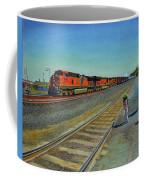 Passing Train Coffee Mug