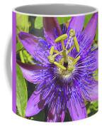 Passion Flower 2 Coffee Mug