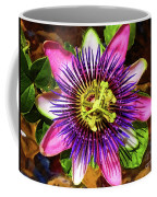 Passion Flower Coffee Mug