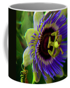 Passion-fruit Flower Coffee Mug by Betsy Knapp