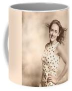 Past Hairstyles Pinup Coffee Mug