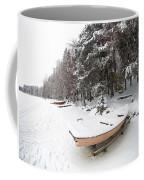 Pastel Boat Coffee Mug