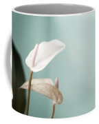 Pastel Color Of Anthurium Flower Coffee Mug