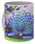 Pastel Peacock Coffee Mug