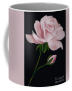 Pastel Pink Rose Coffee Mug