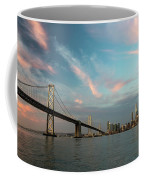 Pastel San Francisco Sunrise Coffee Mug