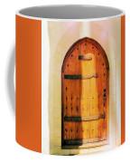 Pastel Wooden Door Coffee Mug