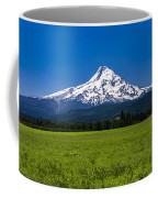 Pasture View Of Mt. Hood Coffee Mug