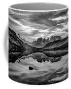 Patagonia Lake Reflection #2 - Chile Coffee Mug