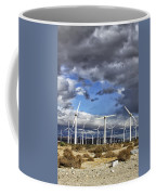 Patch Of Blue Palm Springs Coffee Mug
