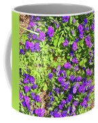 Patch Of Pansies Coffee Mug