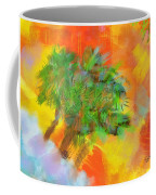 Patchwork Beach Town Coffee Mug