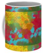 Patchwork Landscape Coffee Mug
