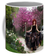 Patchwork Skirt - Hippie Fashion - Pink Spring Coffee Mug